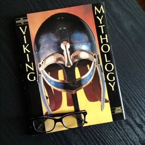 Vintage Viking Mythology Book